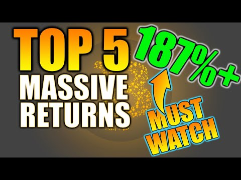 Top 5 ROI Crypto Projects! MASSIVE RETURNS! Sharing MY RETURNS! Crypto ROI & Top 5 Crypto Projects!
