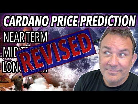 NEW! CARDANO (ADA) PRICE PREDICTION    How High Will Cardano ADA Go   2021 Cardano Price Prediction