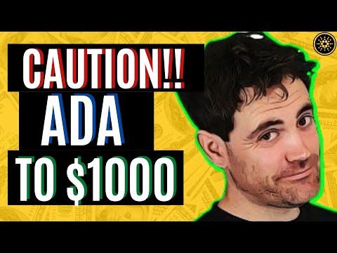 CARDANO ADA TO $1000! COIN BUREAU REVEALS THIS SECRET! CARDANO ADA NEWS TODAY