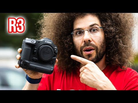 Canon EOS R3 Hands-On UNBOXING!!! (Sniff & Wind Tunnel Test)