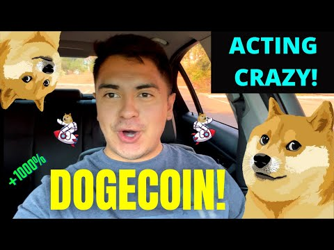 ? NEW DOGECOIN UPDATE! DOGECOIN ACTING CRAZY! *PREDICTION & NEWS*