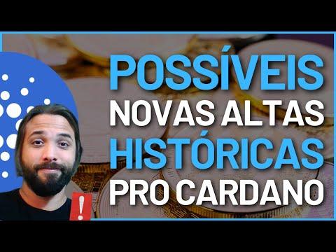 POSSÍVEIS NOVAS ALTAS HISTÓRICAS PARA A CARDANO!