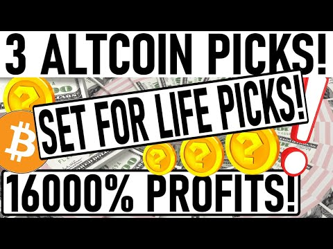 +16000% PROFIT ALTCOIN PICKS! PARABOLIC GEM PICK FOR QUICK PROFITS! 2 COINS WILL DOMINATE CRYPTO!