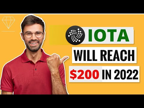 IOTA WILL REACH $200 HERE IS WHY?? – IOTA Price Prediction – What is IOTA?