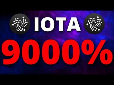 IOTA A 9000% PUMP IS COMING WHY?? – IOTA Price Prediction – What is IOTA?