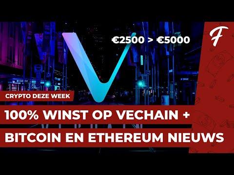 100% WINST OP VECHAIN + BITCOIN EN ETHEREUM NIEUWS || CRYPTO DEZE WEEK #30