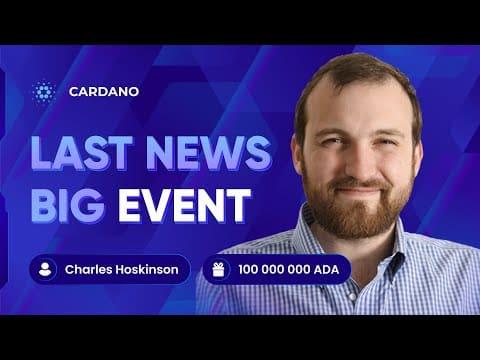 CARDANO CRYPTO MILLIONAIRE COIN   Charles Hoskinson – $12 For Cardano   ADA NEWS   Cryptocurrency  