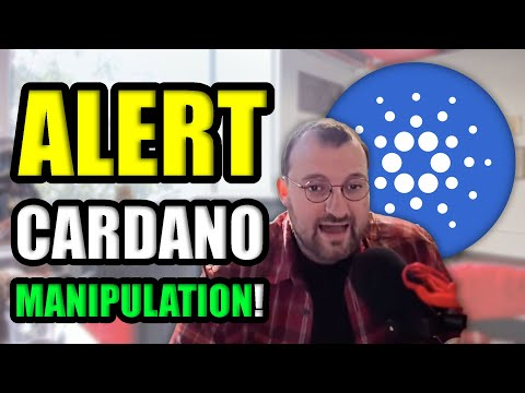 YOU ARE BEING LIED TO ABOUT CARDANO (CRYPTOCURRENCY MANIPULATION)