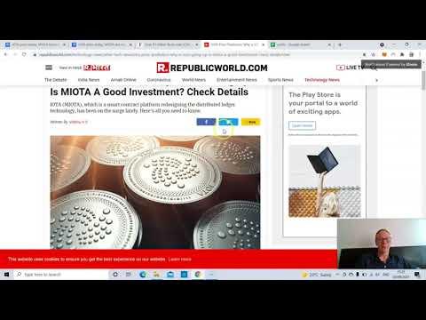 IOTA price prediction – MIOTA is a $100 coin