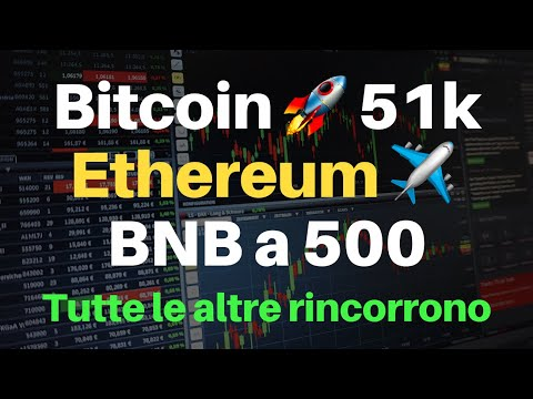 Analisi Bitcoin, Ethereum e Binance coin. SI VOLA!