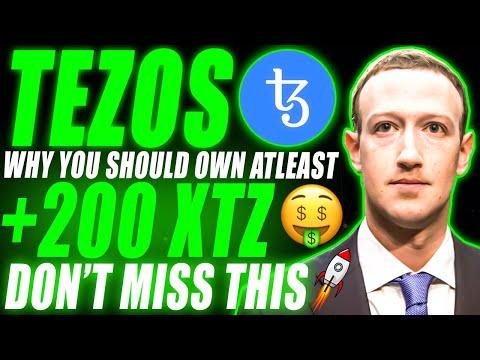 Why You Should Own  ATLEAST +200 TEZOS (XTZ) 🤑 Tezos Price Prediction 2021   Tezos XTZ News Today