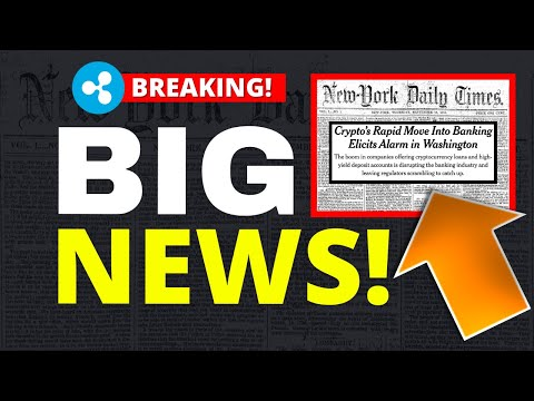 MASSIVE Crypto News – Leaked New York Times Article 2021! (Ripple XRP Holders Be Ready)