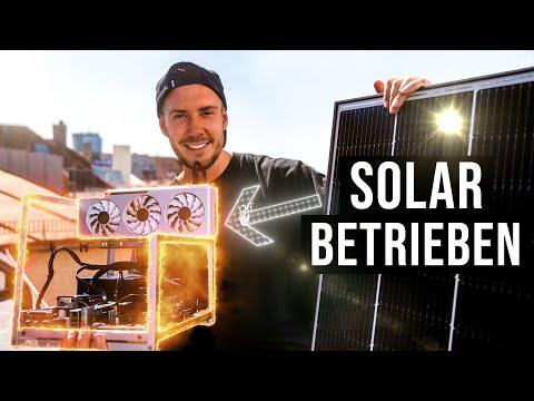 Bitcoin Mining ohne Stromkosten: Mini Solar Rig | Selbstexperiment