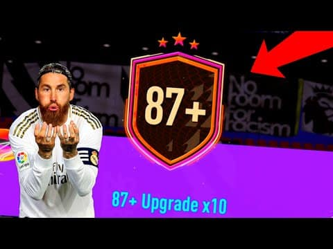 OMG FOUR 87×10 PACKS! TWO TOTY PULLS! FIFA 21 ULTIMATE TEAM!