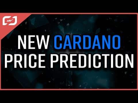 NEW CARDANO PRICE PREDICTION! Massive Cardano Run-up Before Alonzo?