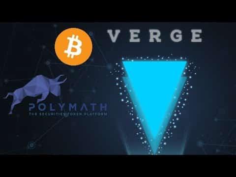 Verge Crypto TRAVEL; POLYMATH $POLY Crypto SOARS; Bitcoin End 2021 PRICE