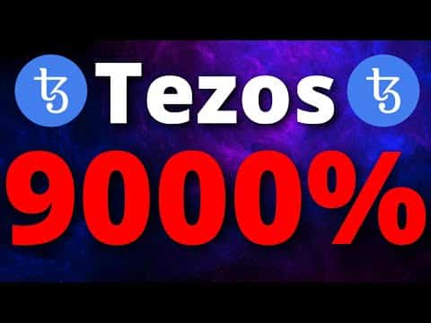 Tezos Price Predictions – A 9000% PUMP IS COMING WHY?? – Tezos XTZ Price Predictions