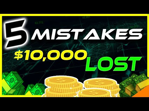 How I LOST $10,000 In Crypto | 5 Biggest Mistakes | Crypto News Today