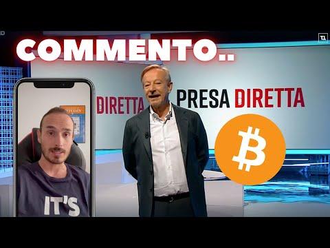 Bitcoin e Crypto su Presa Diretta – Commento