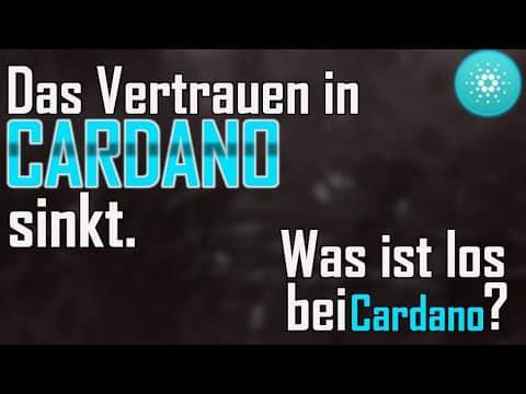 CARDANO unter Kritik | Was läuft falsch bei Cardano (ADA) | Krypto News