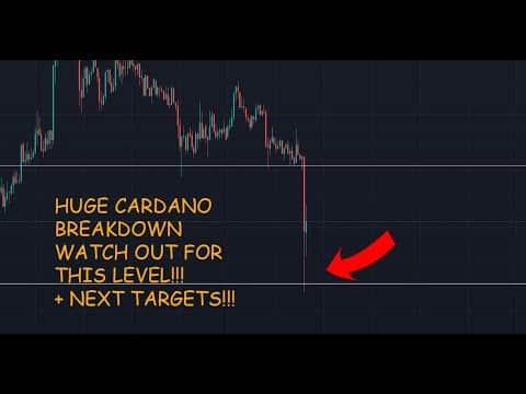 CARDANO ADA COIN Price Analysis Price Prediction EMERGENCY CARDANO BREAKING DOWN!!!