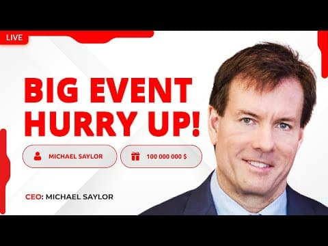 Michael Saylor: MOST IMPORTANT SPEECH EVER ABOUT BITCOIN – MicroStrategy News BTC and ETH