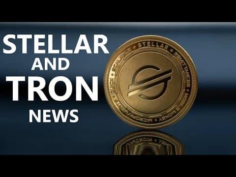 STELLAR CHOOSES CUSTODIAN; TRON $11,000,000,000; SOLANA Record; Bitcoin CURRENCY