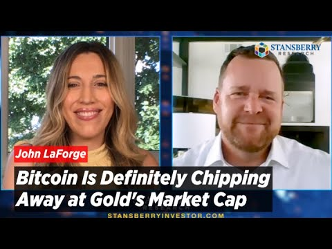 Bitcoin Is Definitely Chipping Away at Gold's Market Cap Says Wells Fargo Exec