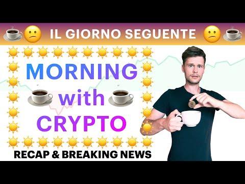 ☕️? IL GIORNO SEGUENTE ?☕️ MORNING with CRYPTO: BITCOIN / ALTCOINS [08/09/2021]