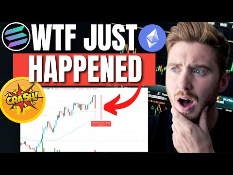 WHY DID THE CRYPTO MARKET JUST CRASH!? – Should you buy the dip!? (URGENT)
