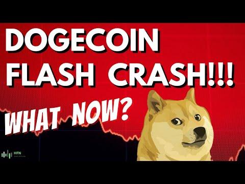 🥇 DOGECOIN Price Prediction – DOGE Plummets 30% During Flash Crash – NEW PRICE TARGET