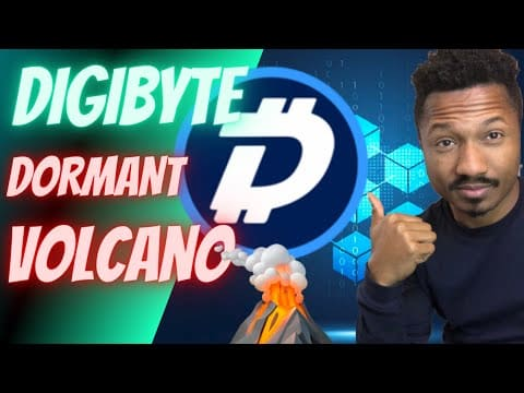 WHY IM PLACING MORE MONEY IN DIGIBYTE DURING THIS PRICE DIP! (Dormant Volcano)