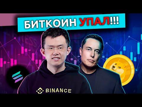 Падение биткоина, Маск похвалил Dogecoin, эксперимент по цифровой ипотеке — новости криптовалют