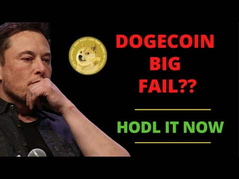 DOGECOIN MASSIVE FAIL? LATEST BREAKING NEWS AND PRICE PREDICTIONS! | DOGECOIN NEWS