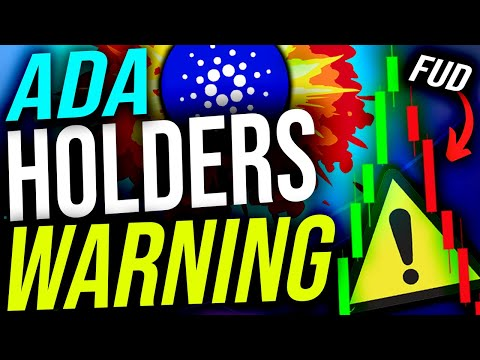 CARDANO (ADA) HOLDERS!! GET READY FOR THIS!! HODL WARNING!! (Cardano Daily #71)