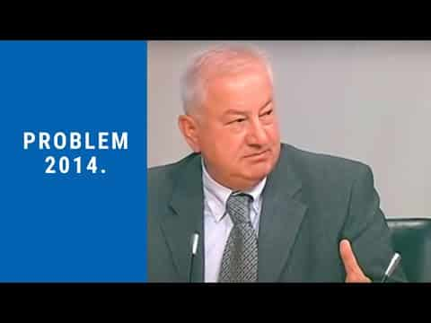 Profesor Zec – Problem, Studio B, 2014.
